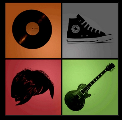 indie, guitar, and music image