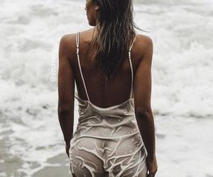 beach, photography, and fashion image