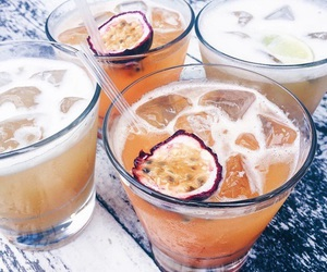 drink, summer, and fruit image