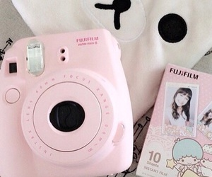 pink, cute, and fujifilm image