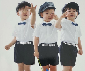 baby, kpop, and triplets image