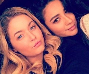 pretty little liars, shay mitchell, and emison image