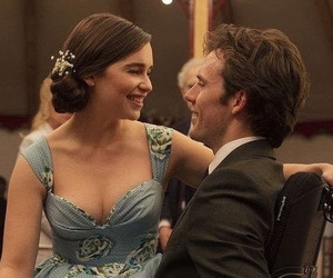 me before you, emilia clarke, and sam claflin image