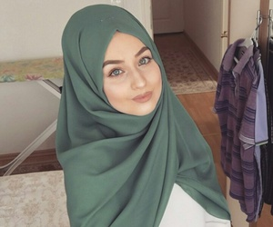 beauty, hijab muslim, and حجاب image