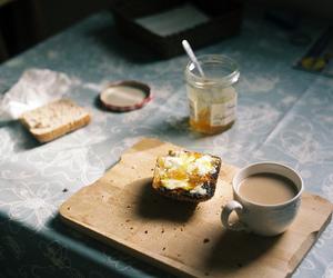 vintage, breakfast, and coffee image