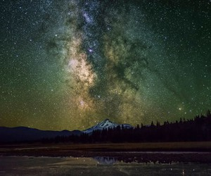 beautiful, galaxy, and milky way image