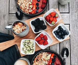 acai, bowl, and cereal image