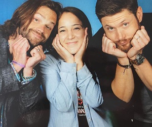 jared padalecki, Jensen Ackles, and spn image