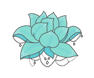 lotus, overlay, and pastel image