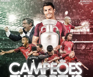 euro, portugal, and champions image