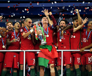 champion, cristiano ronaldo, and portugal image