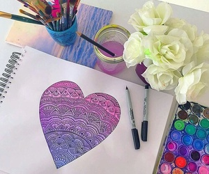 arte, drawing, and art image