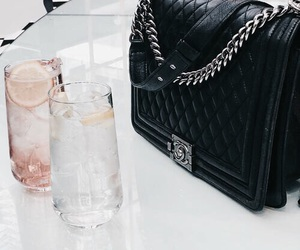 chanel, drinks, and fashion image
