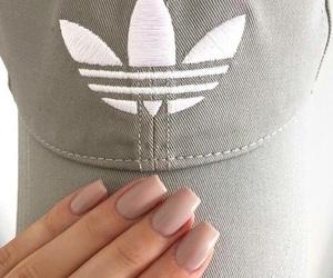 adidas, cap, and nails image