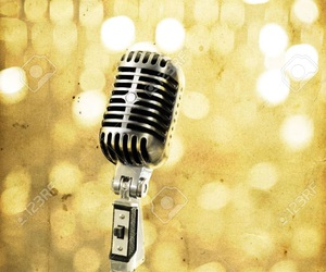 microphone, old, and vintage image