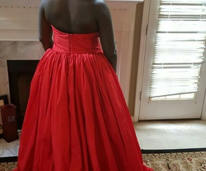 African, ballgown, and black women image