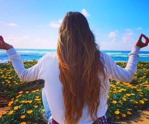 brunette, summer, and tumblr image