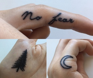 finger, moon, and motivation image
