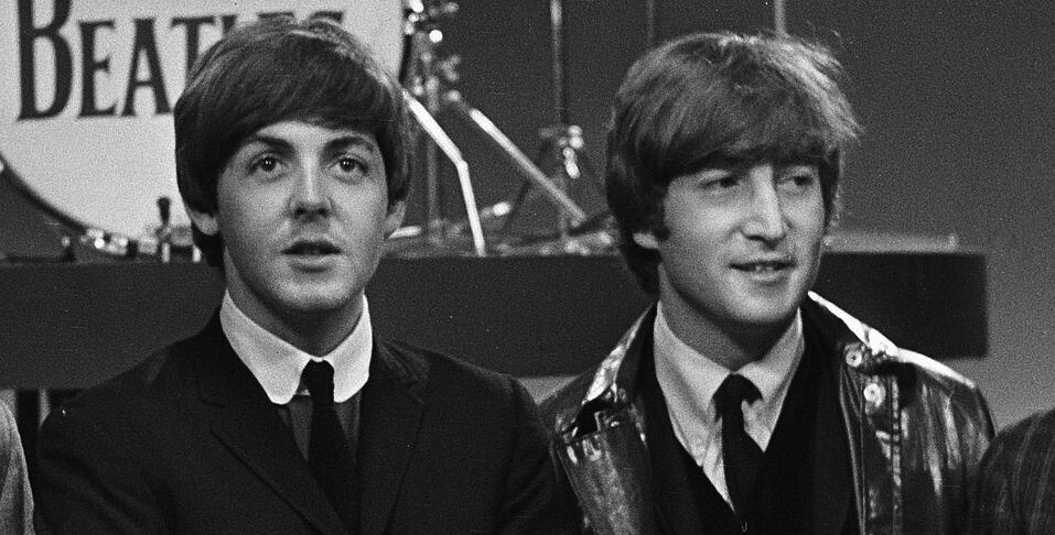 the beatles and mclennon image