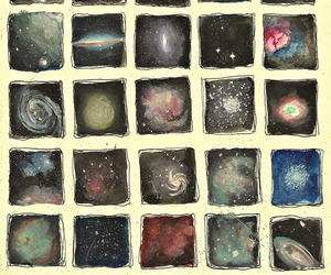 galaxy, art, and universe image