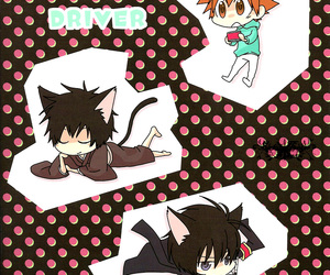 anime, cat ears, and chibi image