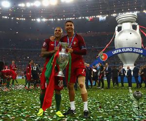cristiano ronaldo, portugal, and UEFA image
