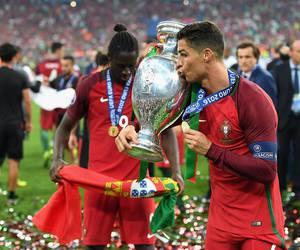 cristiano ronaldo, portugal, and champions image
