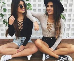 best friend, fashion, and friendship image