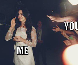 lana del rey, me, and you image