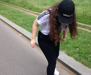 adidas, dungarees, and goals image