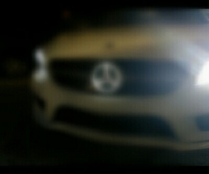 background, benz, and blurry image