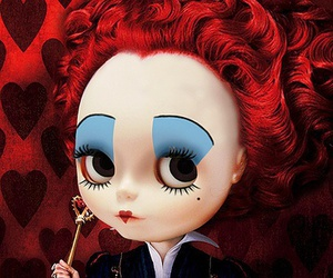 blythe, hearts, and Queen image
