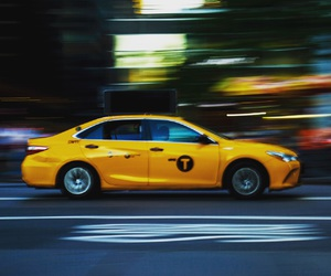 new york, taxi, and igersnewyork image