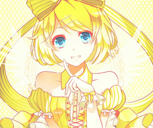 kagamine rin, vocaloid, and rin image