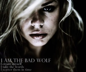 doctor who, bad wolf, and rose tyler image