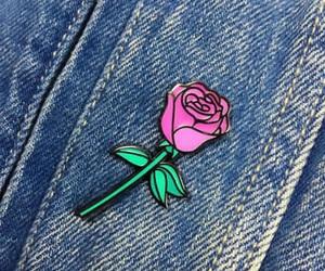 fashion, grunge, and rose image