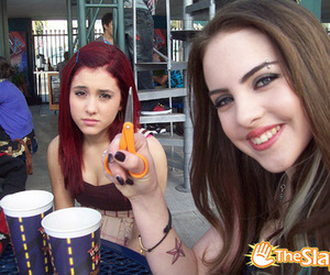victorious, ariana grande, and elizabeth gillies image
