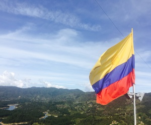 beautiful, blue, and colombia image