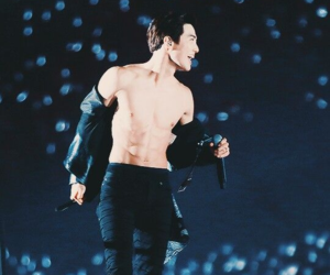 suho, exo, and abs image