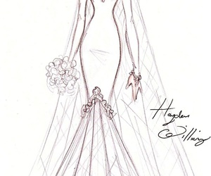 hayden williams, dress, and bride image