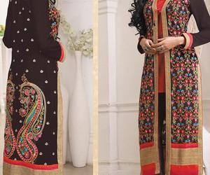 salwarsuit, straightdress, and designersalwarsuit image