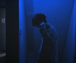 blue, boy, and grunge image