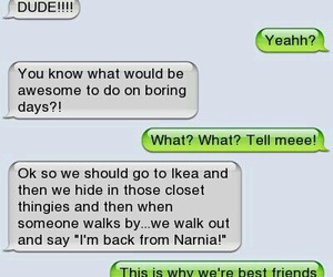 funny, narnia, and text image