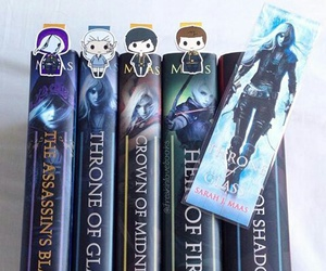 bookmarks, books, and characters image