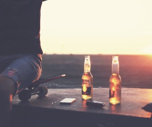 beer, photography, and summer image