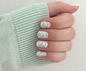 claws, girl, and manicure image