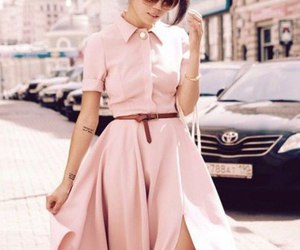 dress, lookbook, and style image