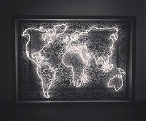 world, light, and travel image