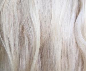 hair, white, and white hair image
