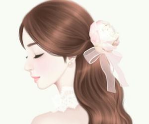 art, Enakei, and girl image
